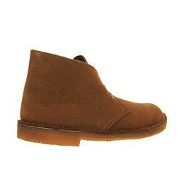 Clarks Originals Desert Boot, Herren Desert Boots Kurzschaft Stiefel & Stiefeletten,Grau (Wolf Suede) Cola Suede
