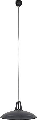 Pendelleuchte aus Metall, DHELI, graphit, E27, leuchtenladen, Hängelampe Pendellampe Deckenlampe