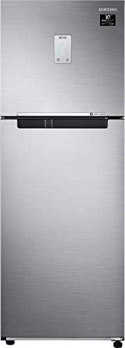 Samsung 244L 3 Star Inverter Frost Free Double Door Refrigerator (RT28T3523S8/HL, Elegant Inox, Curd Maestro)