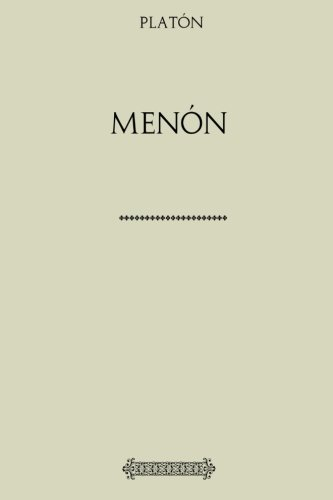 Colección Platón. Menón