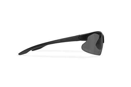 Occhiali Fotocromatici Polarizzati Ciclismo MTB Bici Running Pesca e Golf - lente 100% U.V. e antivento by Bertoni iWear - P301AFT