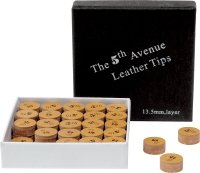 Klebleder 5th Avenue (Mehrschichtleder) 13,5 mm (Preis pro Stück)