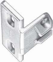 Blum 1 1/4 Overlay Compact 33 Edge Mount Montageplatte (Edge-mount-scharnier)