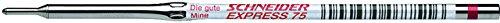 Preisvergleich Produktbild Schneider 7512 75M rot Kugelschreibermine DIN 16554 dokumentenecht rot