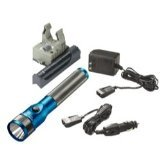 Streamlight STL75613 Stinger LED Rechargeable Flashlight With AC-DC And PiggyBack - Blue