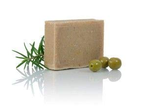 HappySkin HERBA natürliche Haarseife, festes Shampoo mit Teebaumöl, gegen fettiges Haar und Schuppen Be Happy Skin! -