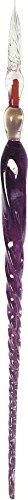 J.Herbin Brause 21277T Glasfeder (groß, 20 cm, gezwirbelt, perfekt für Kalligraphie) violett