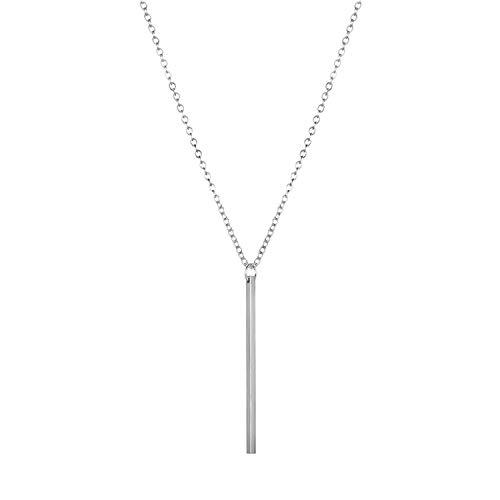 Schlichte mehrschichtige Halskette Geschenk Damen Halskette Trend Einheitsgröße N9 - Organizer Loom Armband