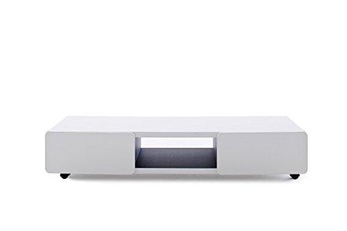 TV Möbel Jeff , TV Tisch, Media-Element, Lowboard, TV-Lowboard matt weiß