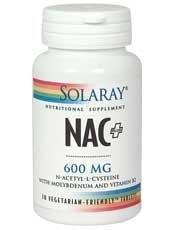 Solaray 600 mg Nac Plus Capsule - Pack of 30