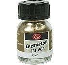Viva Decor Edelmetall Pulver 3g -Siber-