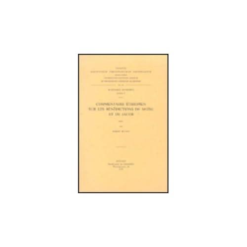 Commentaire Ethiopien Sur Les Benedictions De Moise Et De Jacob. Aeth. 73.