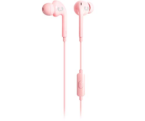 Fresh 'n Rebel Earbuds VIBE Cupcake   Kabelgebundene In-Ear Kopfhörer (Wireless Rosa Earbuds)