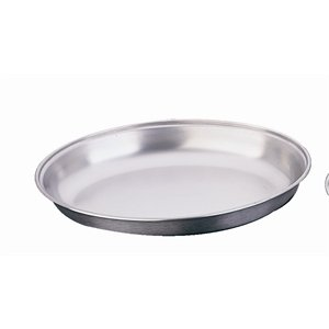 """210qSz8o6PL. SS300  - Oval 10"""" Undivided Vegetable Dish Stainless Steel Serving Plate Tableware"""