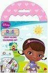 Disney Doc McStuffins, Spielzeugärztin: Carry Along Colouring Set mit Buntstiften [Spielzeug]