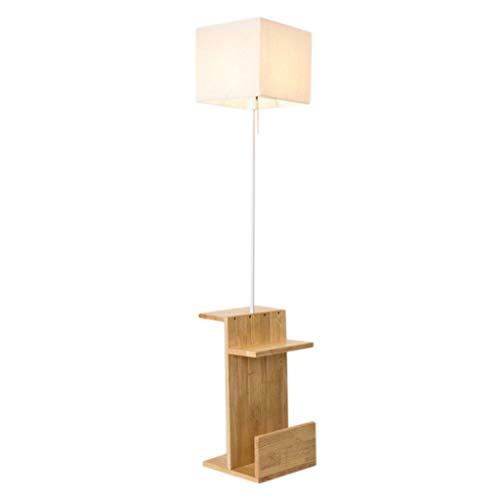 Schreibtischlampe Moderne Minimalistische Massivholz Stehlampe Schlafzimmer Studie Nacht Wohnzimmer Holz Stehlampe - Ziehen Untere Lagerung