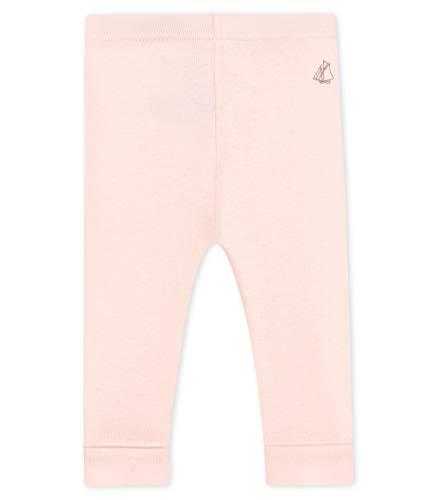 Petit Bateau Baby - Mädchen Leggings 4852005, Pink (Fleur 05), 98 (Herstellergröße: 36M/95cm)
