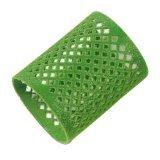 Metallwickler grün 50 mm beflockt lang 12er-Beutel