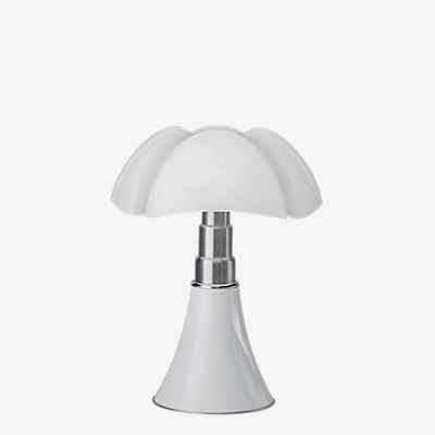 Martinelli Luce 620/J/BI Pipistrello Lampe de Table Mini LED 9 W Blanc