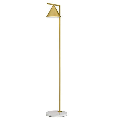 TYCI Lampadaire, Lampadaire Nordic LED pour Salon, éclairage de Lecture, Lampe à Poser créative, A ++ Warm-Gold