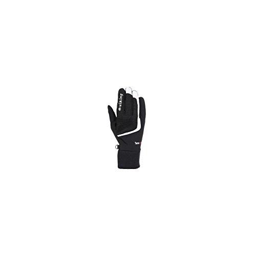 Viking Flash Sporthandschuhe Rad Jogging Langlauf Nordic Walking Handschuhe - schwarz-weiss, 8