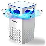ICCKER Lampada Anti Zanzare Elettronico Insetti Volanti Killer con USB Insetti Killer trappola per zanzare 50 m² di Luce UV 35dB 4W per cucina domestica Giardino Patio