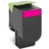 Preisvergleich Produktbild LEXMARK 802SME Toner magenta Standardkapazität 2.000 Seiten 1er-Pack corporate