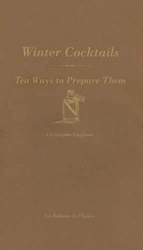 Winter cocktails par Christopher Gaglione