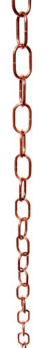Stanwood ot-rc4 8 ft New Traditional Single Loop Regen Kette – Kupfer