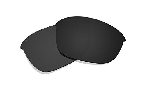 Schwarz Polarisierte Ersatz Gläser für Oakley Half Jacket 2.0Sonnenbrille