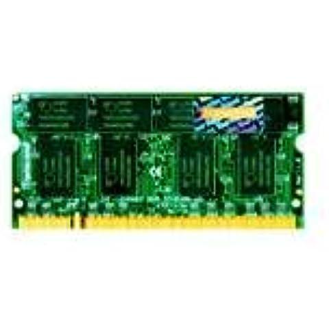 Transcend DDR333 - Memoria RAM de 256 MB (CL2.5, soDIMM)