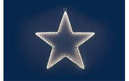 Étoile lED blanc cm.40