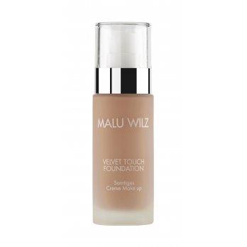 Malu Wilz Velvet Touch Foundation Number 03 Cream Make-Up 30 ml for Light Skin Types