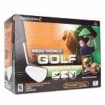 etk Mad Catz mundo real juego de golf Bundle w / Gametrak para PS / 2
