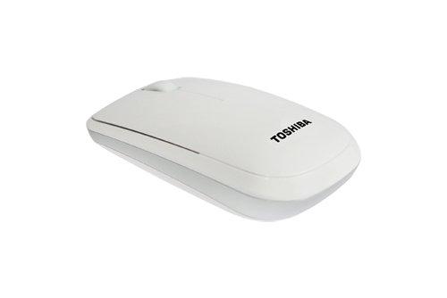 TOSHIBA Wireless Optical Mouse W30 - weiss
