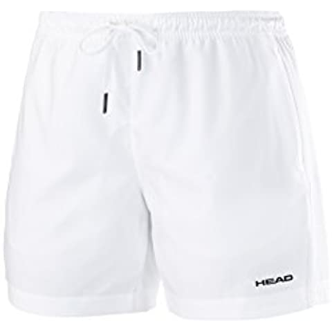 Head Club pantaloncini, Uomo, Shorts Club M, bianco, S