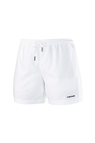 HEAD Herren Shorts Club M, Weiß, XXL, 811645