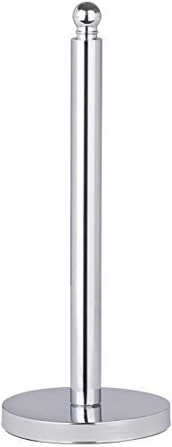 WENKO Toilettenpapier-Ersatzrollenhalter Viterbo, für 3 Toilettenpapierrollen, Edelstahl rostfrei, Ø 14 x 35 cm, Glänzend