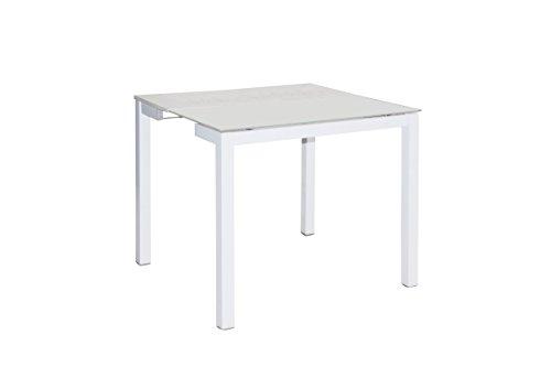 Mesa de cocina extensible Home 90x80