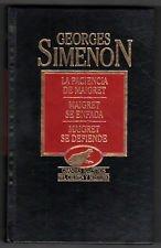 Maigret y los testigos recalcitrantes. Maigret a pensión. Un fracaso de Maigret. par Georges Simenon