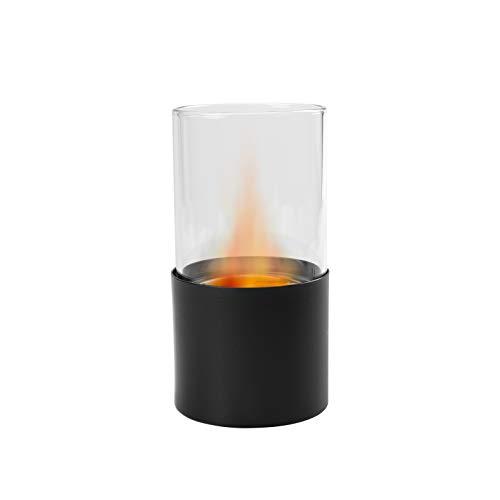 Camino al bioetanolo biocamino da tavolo gea (nero)