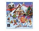 Leonindas Asterix Adventskalender / 2017 / 24 Schokoladentäfelnchen / Napolitains / Vollmilch / Zartbitter / lustige Motive / Comic / ideal für Jung / Alt / Obelix / Idefix / Film / Kalender