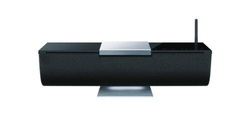 Onkyo ABX-N300 WLAN-Musiksystem für Apple iPad/iPhone (AirPlay, , Ladefunktion) schwarz (Onkyo Nur)
