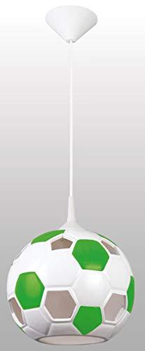 Balón de fútbol balón de fútbol lámpara luz verde-blanco para la ...