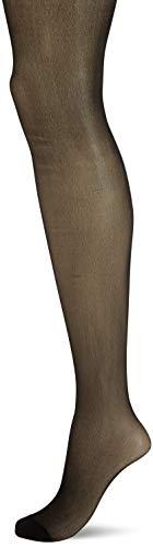 Ulla Popken Große Größen Damen Strumpfhose, 1er Helanca, 20 DEN, (Schwarz 10), XXX-Large (Herstellergröße: 56+)