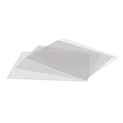 DISPLAY SALES Antireflex Schutzfolie DIN A1 (2 Stück) 0,4 mm dick Ersatzfolie Kundenstopper Klapprahmen