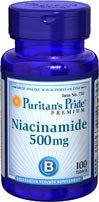 Puritans Pride Niacinamide 500 mg 100 Tabletten from Puritans Pride