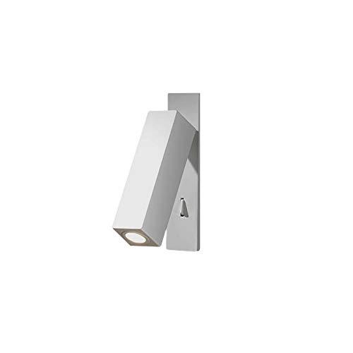 Applique Hall, aluminium, blanc mat