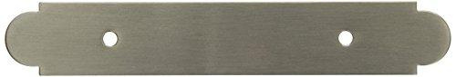 Satin Nickel Backplate (Amerock BP19208-G10 Backplates Backplate, Pull, Rectangle, 3 Ctr ,Satin Nickel by Amerock)