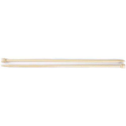 Susan Bates 13-Inch Bamboo Single Point Knitting Needle, 6.5mm by Susan Bates -
